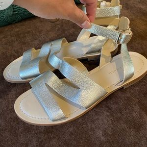 Marc Fisher ankle sandals
